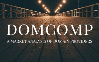 Domcomp: a market analysis of domain providers.
